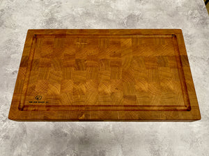 Oak End Grain Carving Board #4160