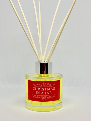 Christmas in a Jar Reed Diffuser