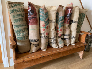 Coffee Sack Draft Excluder
