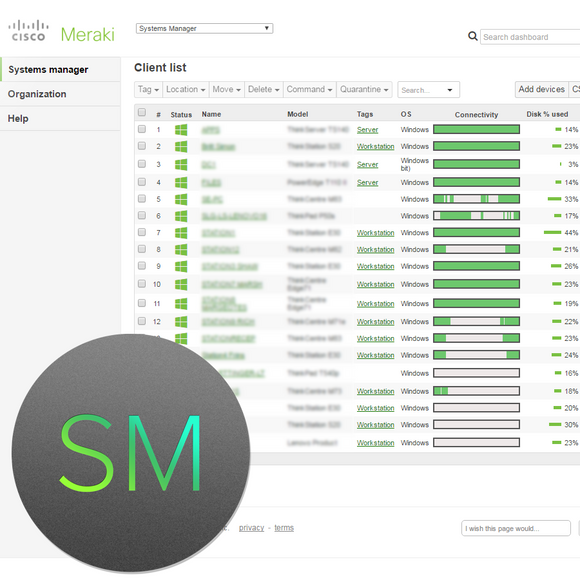 Cisco Meraki Mobility Management