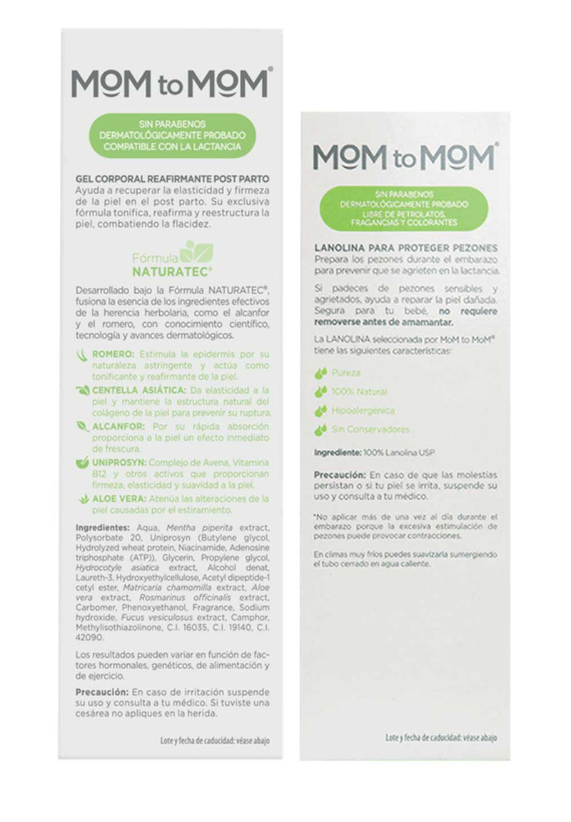 "Kit MOM to MOM ETAPA ""c"" - 2 productos"
