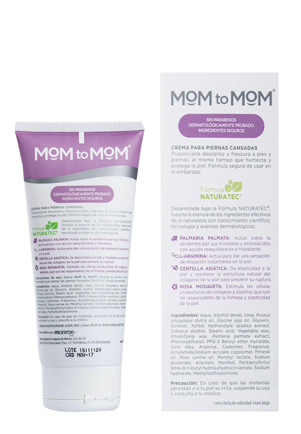 Crema para Piernas Cansadas MOM to MOM ETAPA b 190ml