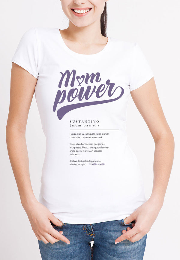 MOMPOWER Playera MOM to MOM
