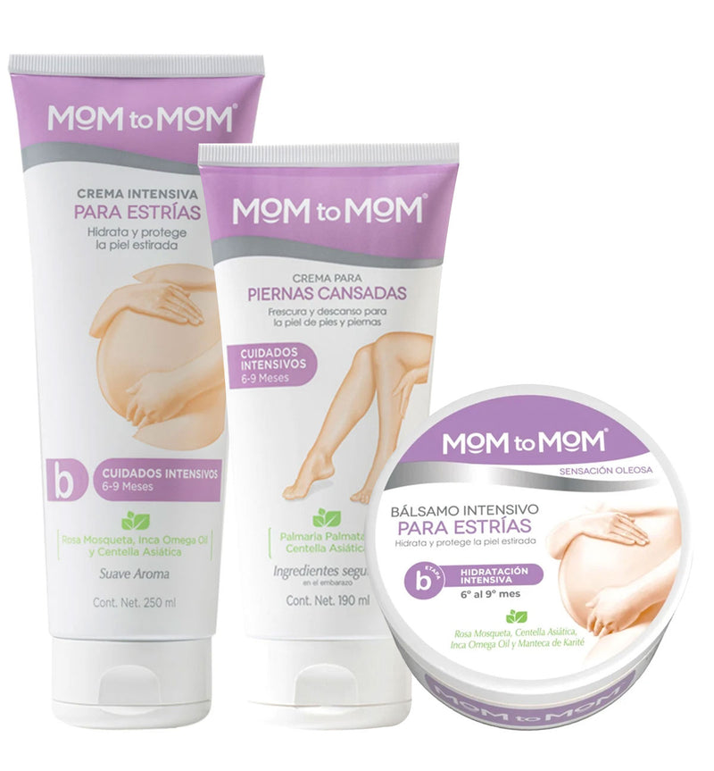 "Kit MOM to MOM ETAPA ""b"" - 3 productos"