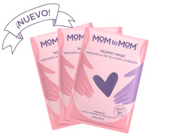 KIT MOMMY MASK Mascarilla en tela para la pancita (3 pzs.)