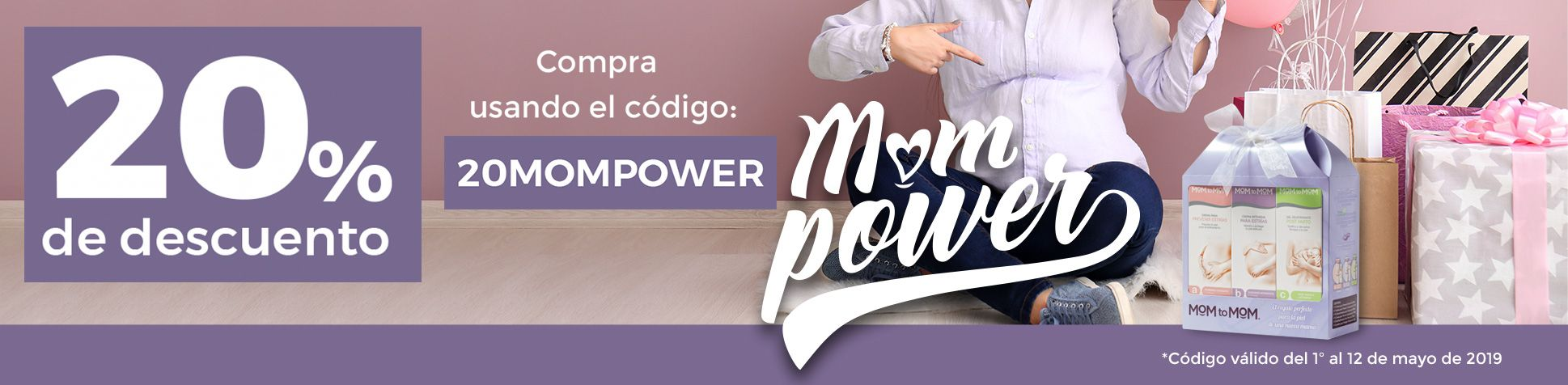 MOMPOWER PROMO 20%