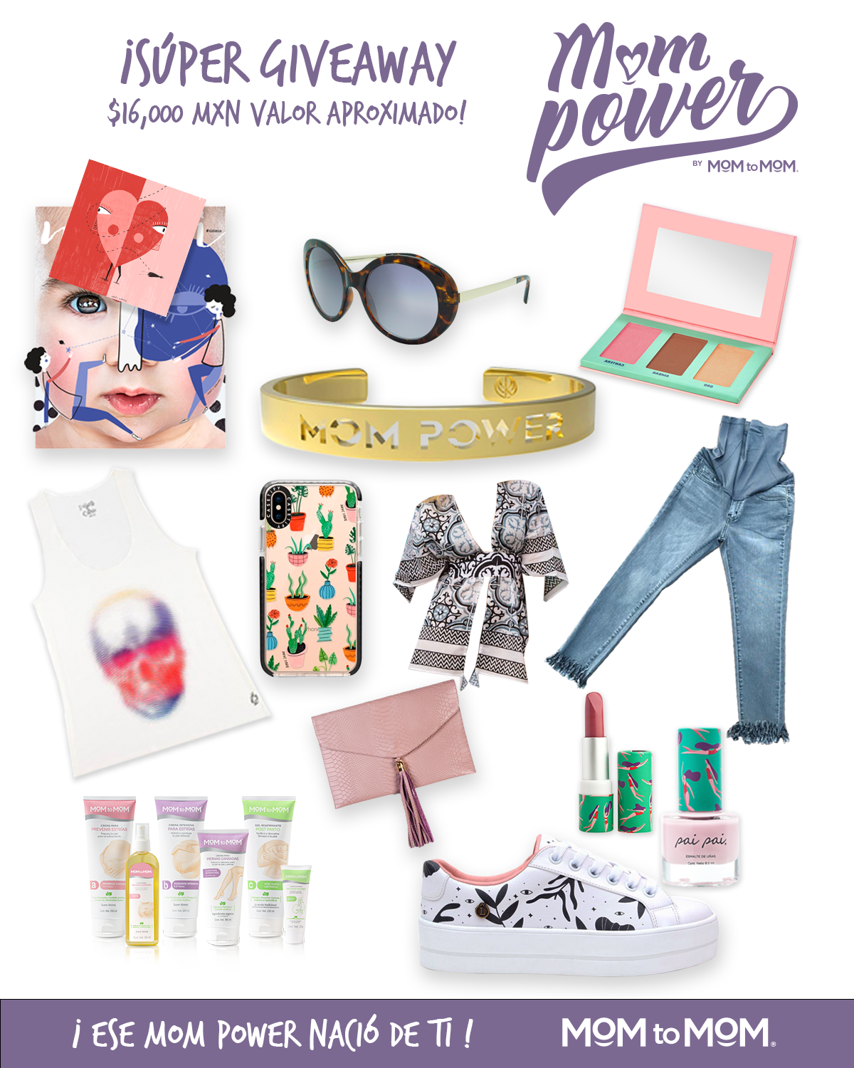 MOMPOWER GIVEAWAY