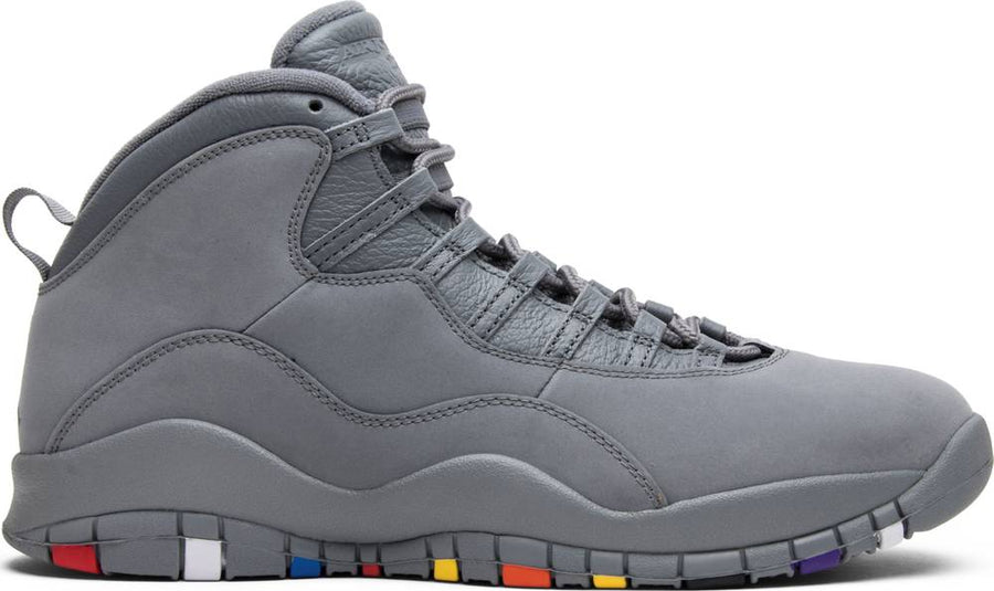 Air Jordan 10 Retro 'Cool Grey' 2018
