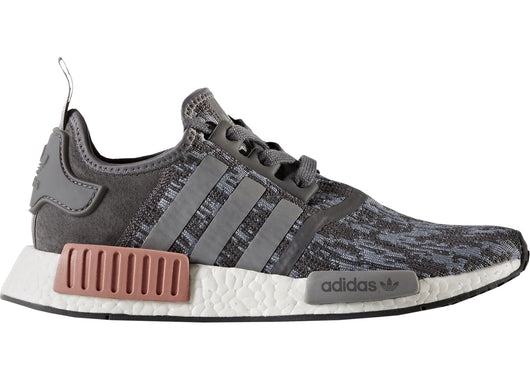 NMD R1  HEATHER GREY / RAW PINK