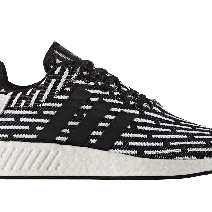 NMD R2  BLACK STRIPED