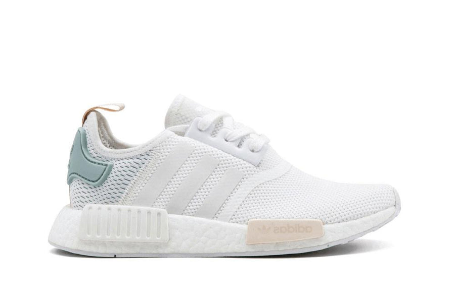 NMD R1  WHITE SAND TEAL