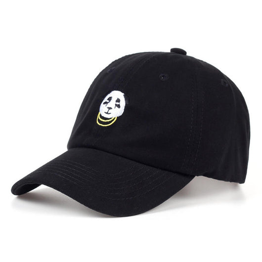 Panda Gold Chains Baseball Cap