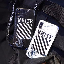 Off White Virgil Abloh iPhone Case