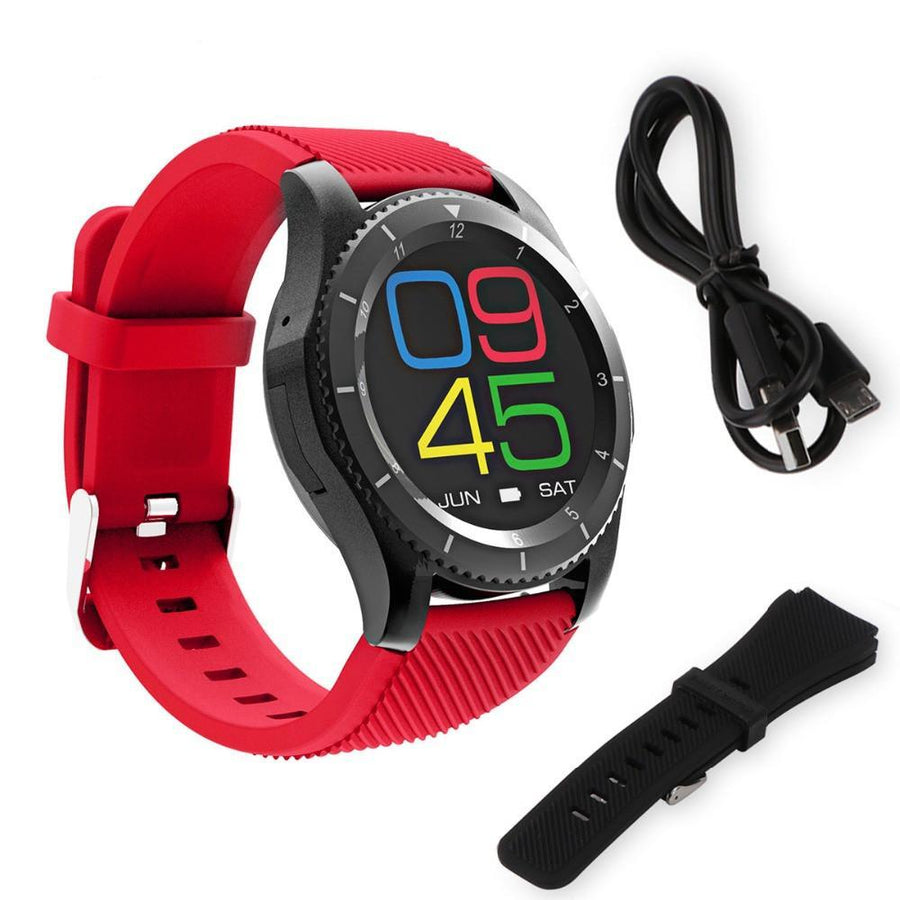 Bluetooth Smart Watch Android 4.4 OS Support SIM  for Android iOS iPhone