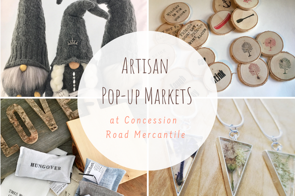 Workshops, special events, artisan pop-up markets and milk