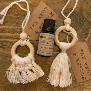 Macrame Essential Oil Diffusers