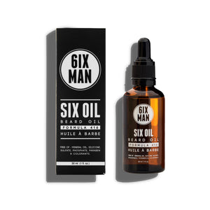 Six Oil Premium Natural Beard Oil
