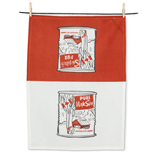 maple syrup can tea towel