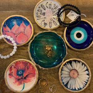 Clay & Resin Ring Dishes