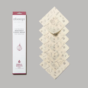 Abeego Beeswax Food Wraps-small pack