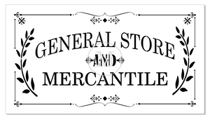 Reusable Mylar Stencils-Concession Road Mercantile