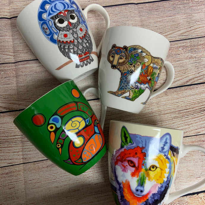 Indigenous Artist Signature Mugs