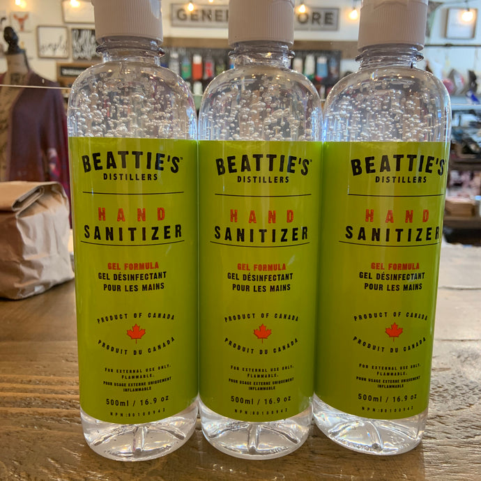 Beattie's Hand Sanitizer Gel