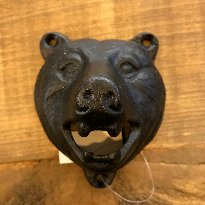 Cast Iron Bear Bottle Opener
