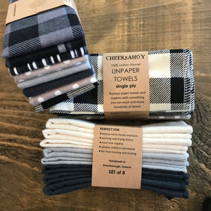 Reusable Flannel Cloth Wipes