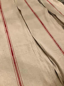Cotton Grain Sack Table Runners
