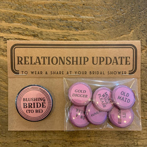 Shower & Party Button Packs