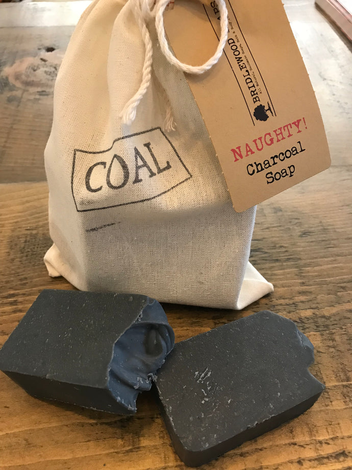 Bridlewood Charcoal Soap Naughty Gift Bag