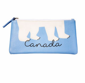 Canadian Polar Bear Pencil Case-Concession Road Mercantile