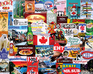 I Love Canada Puzzle-Concession Road Mercantile