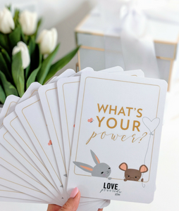 Love Powered Affirmation Cards for Littles-Concession Road Mercantile