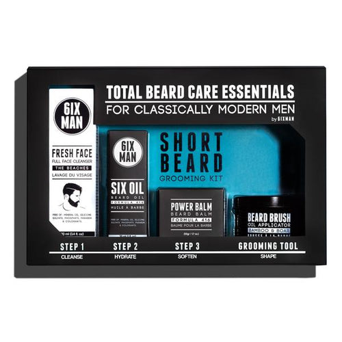 6IXMAN Beard Care Essentials Gift Pack