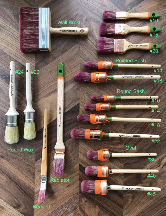 Staalmeester Paint Brushes-Concession Road Mercantile