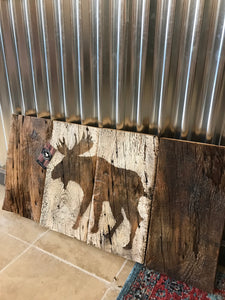 Barnboard Canadian Flag Art-Concession Road Mercantile