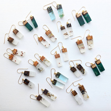 Resin + Wood Earrings