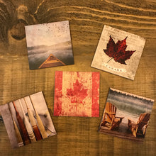 Cedar Mountain Wood Coasters-Concession Road Mercantile