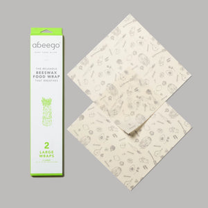 Abeego Beeswax Food Wraps-large pack