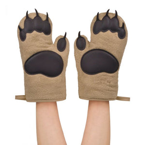 Bear Hands Oven Mitts-Concession Road Mercantile