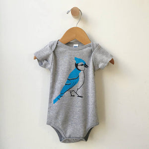 Organic Bluejay Onesie-Concession Road Mercantile