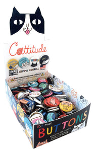 Cattitude Buttons