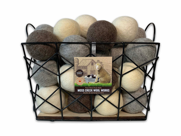 Felted Wool Dryer Balls