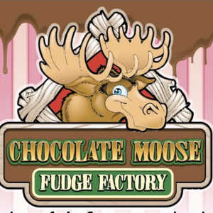 Chocolate Moose Christmas Fudge Bars