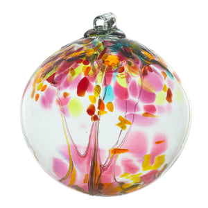 Kitras Tree of Enchantment Blown Glass Art Balls - SMALL