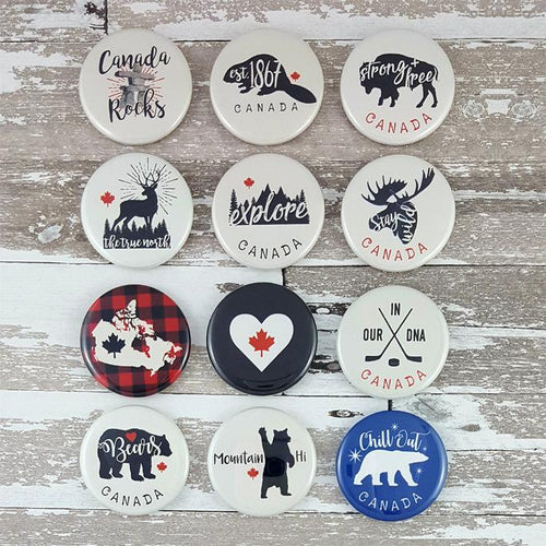 Oh Canada Pins-Concession Road Mercantile