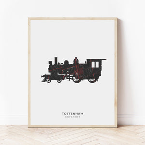 New Tecumseth Map Prints