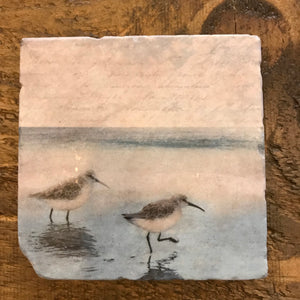 Cedar Mountain Marble Coasters-Concession Road Mercantile